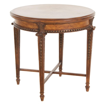 Emerson et Cie Napoleon III Style Burl Top Side Table