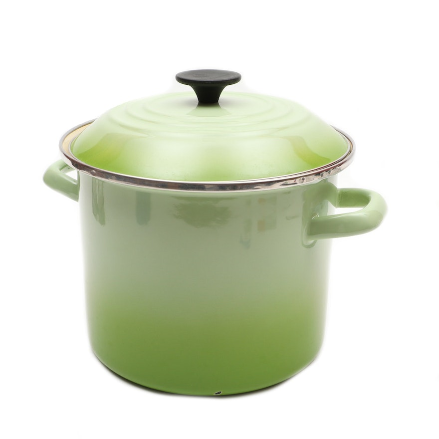 Le Creuset Enameled Stainless Steel Stock Pot