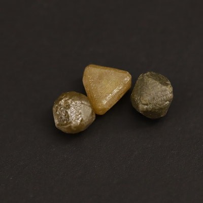 Loose 2.45 CTW Rough Diamonds