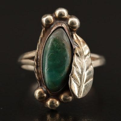 Western Sterling Silver Variscite Ring