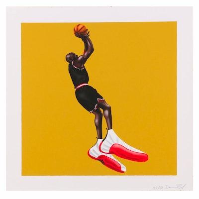 """Darien Birks Pop Art Giclée """"Catch a Fade"""", 2020"""
