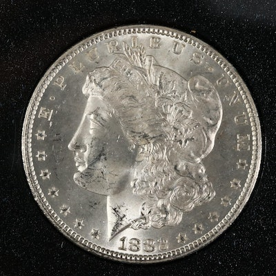GSA 1882-CC Morgan Silver Dollar