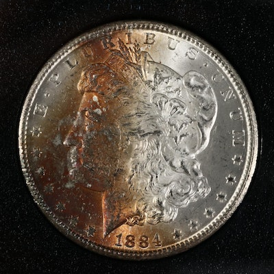 GSA 1884-CC Morgan Silver Dollar