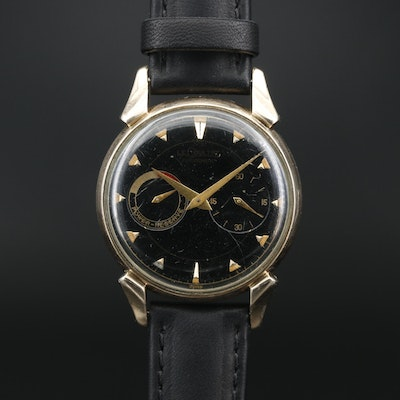 Vintage LeCoultre Futurematic 10K Gold Filled Automatic Wristwatch