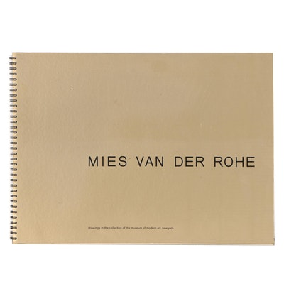 Book of Photogravures After Ludwig Mies van der Rohe, 1969
