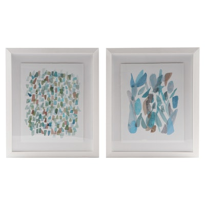 "Giclées ""Ocean Glass Series 2"" and ""Ocean Glass Series 5"""