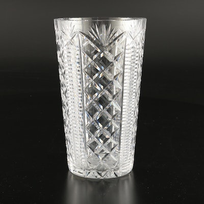 "Waterford Crystal ""Clare"" Flower Vase, 2000–2017"