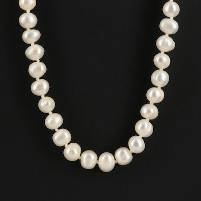 Endless Opera Length Pearl Necklace