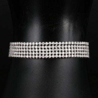14K 3.27 CTW Diamond Multi-Strand Bolo Bracelet