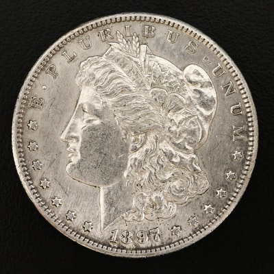 Better Date 1897-S Morgan Silver Dollar