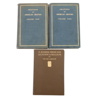 "First Edition ""A Journal from Our Legation in Belgium"" and More Nonfiction Books"