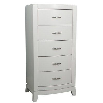Liberty Furniture 5-Drawer White Chest of Drawers