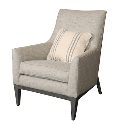 "Rowe Furniture ""Thatcher"" Upholstered Armchair"