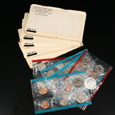US Mint Uncirculated Coin Sets, 1968–1971