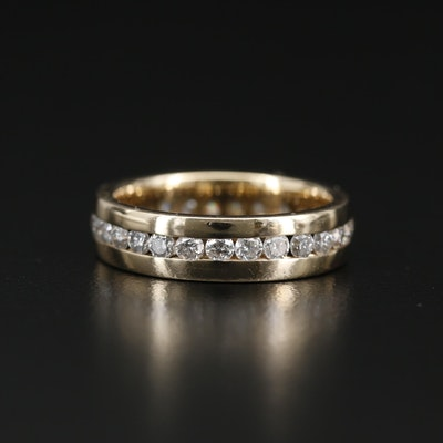 14K 1.21 CTW Diamond Eternity Band
