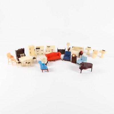 Renwal Plastic Doll House Furniture