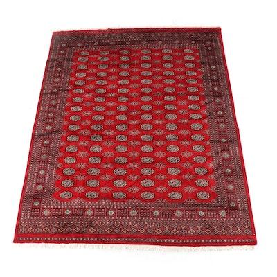 8'2 x 10'8 Hand-Knotted Pakistani Azra Bokhara Wool Rug