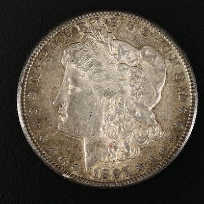 Low Mintage 1887-S Morgan Silver Dollar