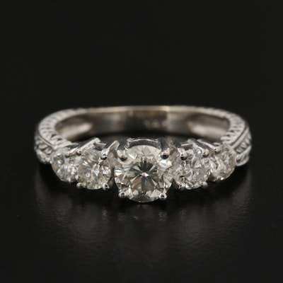 14K 1.53 CTW Diamond Ring