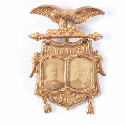 Grover Cleveland and Adlai E. Stevenson Jugate Badge