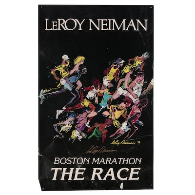 LeRoy Neiman Offset Lithograph Exhibition Poster, Late 20th Century