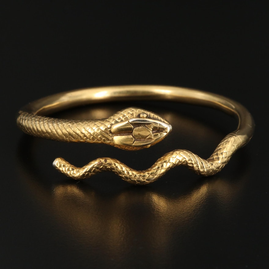 Metropolitan Museum of Art Snake Bracelet