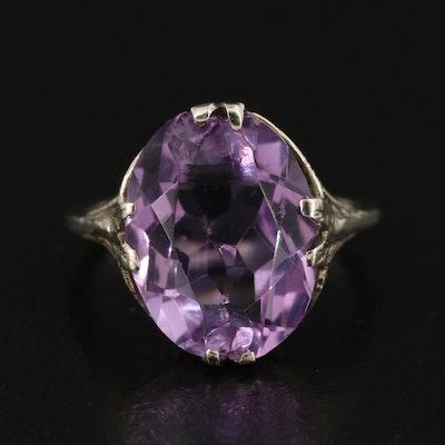 1930s 14K Amethyst Ring