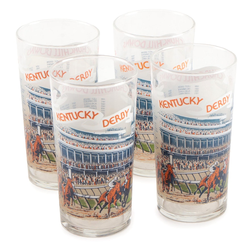 1979 Official 105th Kentucky Derby Mint Julep Cups Vintage Ebth