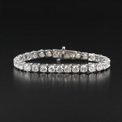 14K 18.62 CTW Diamond Line Bracelet