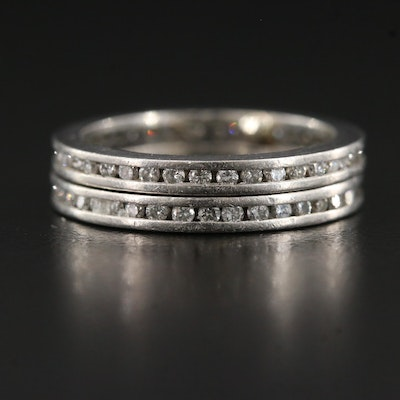 Platinum Diamond Eternity Bands