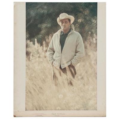 """Carl Fischer Dye Transfer Print """"Robert Mitchum"""""""