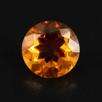 Loose 5.67 CT Citrine