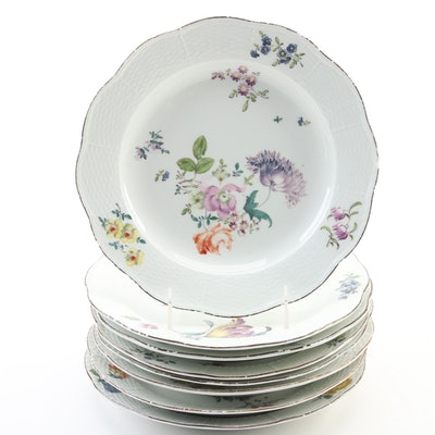 Meissen  Porcelain Soup Plates, Late 18th Century to Early 19th Century