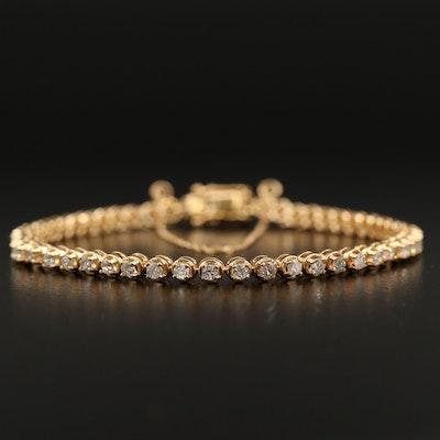 14K 1.62 CTW Diamond Line Bracelet