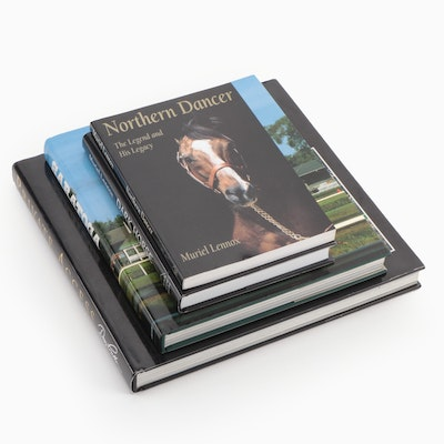 Books on Horse Farms, Racetracks and Horses