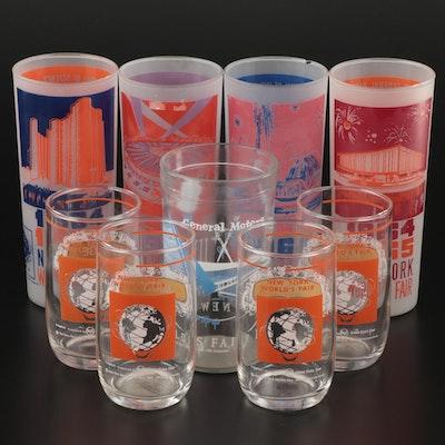 1964–1965 New York World's Fair Advertising Glasses