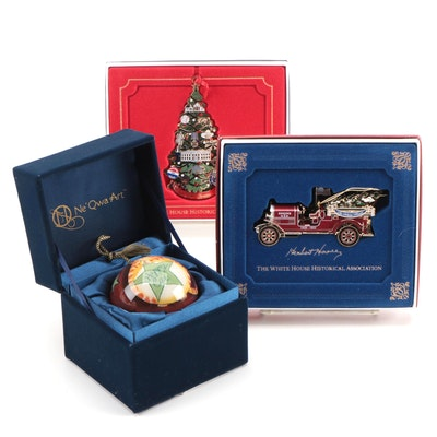 White House Historical Association and Ne'Qwa Art Christmas Ornaments