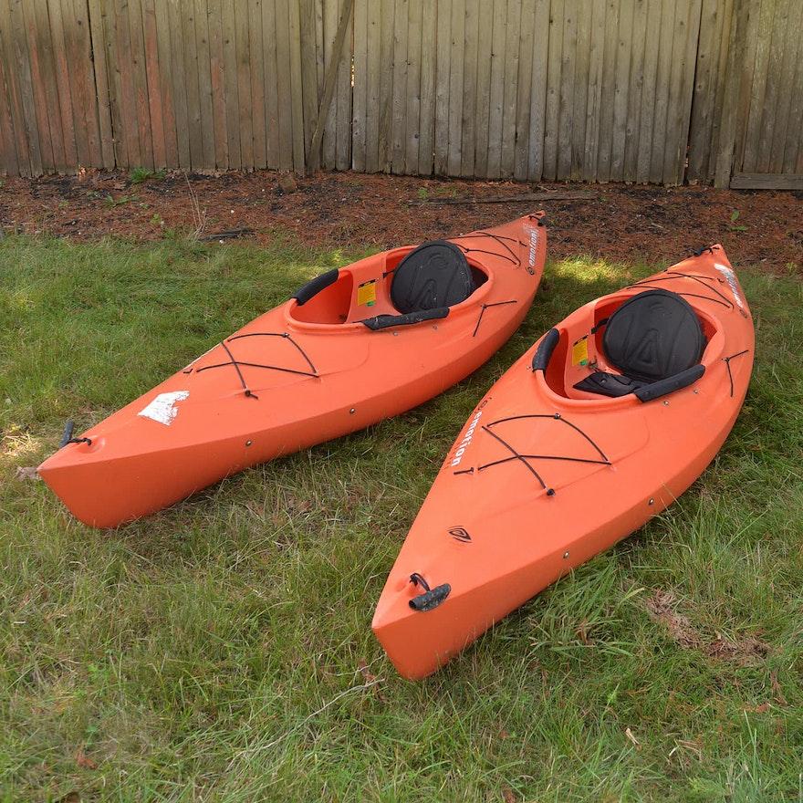 Two Emotion 10' Kayaks