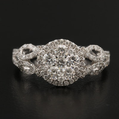14K 1.15 CTW Diamond Ring