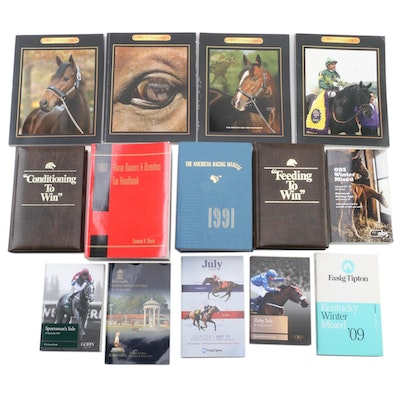 Horse Racing Books, Catalogs and Magazines