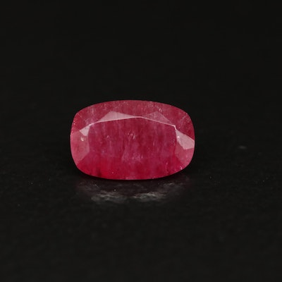 Loose 0.42 CT Oval Faceted Red Beryl