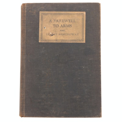 "First Trade Edition ""A Farewell to Arms"" by Ernest Hemingway, 1929"
