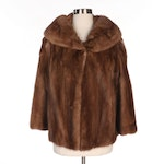 Mink Fur Jacket with Shawl Collar from The Rike-Kumler Co., Vintage
