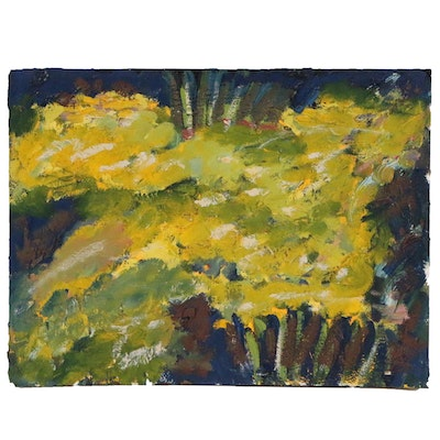 Jerald Mironov Abstract Impasto Oil Painting