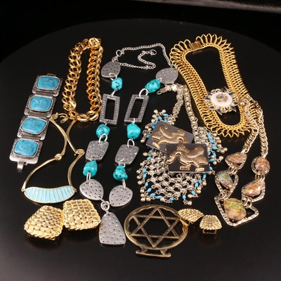 Jewelry Selection Featuring Ann Dick and Enamelwork