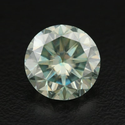 Loose Round Faceted Laboratory Grown Moissanite