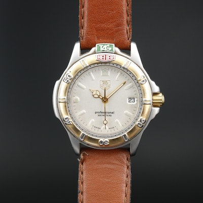 TAG Heuer 400 Series Two Tone 200 Meters Quartz Wristwatch
