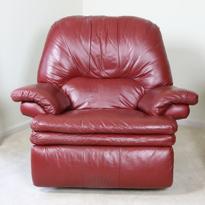 Faux Leather Reclining Chair with Relaxor Massage System