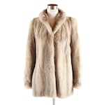 Megaris Furs at Gimbels Mink Fur Coat