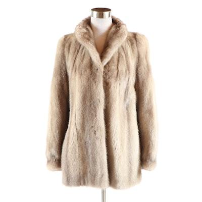 Megaris Furs at Gimbels Mink Fur Coat